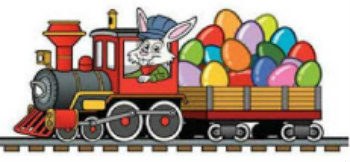 Ride The Easter Train In Hudson