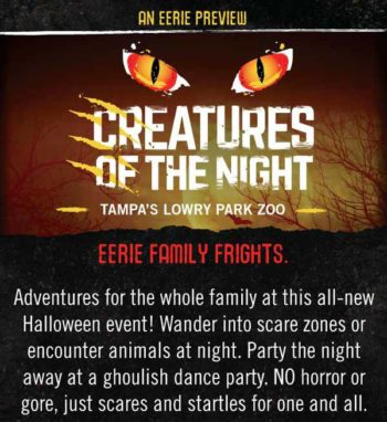 Lowry Park Zoo - Creatures Of The Night
