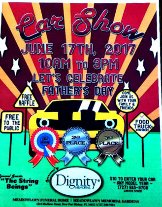 Car Show Celebrates Father's Day-June 17