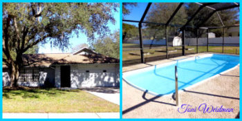 River Side Village Pool Home For Sale